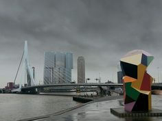 Bad weather in Rotterdam