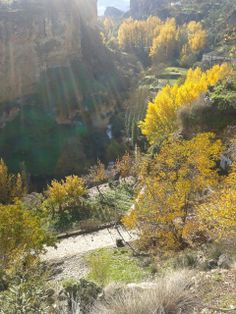 Autumn in the Alhama Gorge