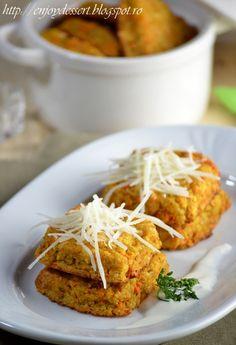 Chiftele de conopida cu branza Romanian Food, Romanian Recipes, Good Food, Chicken, Meat, Cooking, Desserts, Food, Kitchen