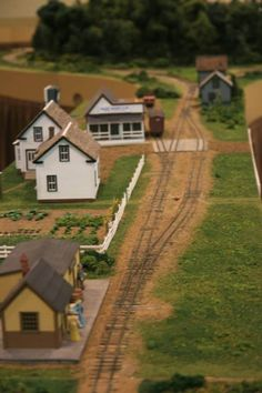 Nice small station #narrow #gauge #modules