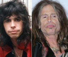 Steven Tyler appears to have created his own self-fulfilling prophecy because that dude definitely looks like a lady. Thankfully the creepy soul patch below his lower lip is there to remind us that it is in fact the rock legend.