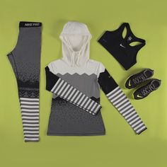 Step one: gear. Next up: goals. Which gym workout will you conquer? #ootd