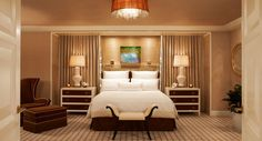 Hotel Suite 5 Bedrooms | You'll find touch-screen curtains, lighting and privacy controls ...