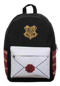 Harry Potter Sublimated Envelope Panel Print Backpack