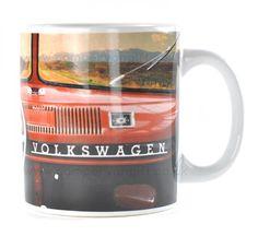 Campervan Gift - VW Red Dashboard Campervan Collectible Mug, £5.95 (http://www.campervangift.co.uk/vw-red-dashboard-campervan-collectible-mug/)