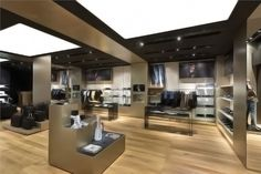 Porsche Design Store in The Shoppes at Marina Bay Sands, Singapore design shop