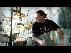 Darek Daray Brzozowski and Yamaha Oak Custom X - Hunter recording session