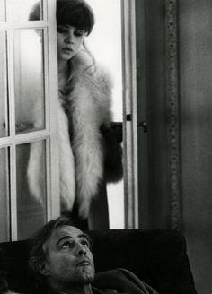Marlon Brando and Maria Schneider in Last Tango in Paris, directed by Bernardo Bertolucci