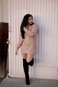Slouchy Dolman Tunic Posted by: http://www.stephlexx.com/2016/12/kim-k-vibes.html