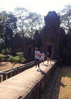 Real live temple run!!!