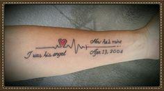 In memory of my dad! rip grandma tattoos, rip tattoos for dad, tattoos Rip Tattoos For Dad, Grandpa Tattoo, In Loving Memory Tattoos, Grace Tattoos, Dad Tattoos, Tattoos Skull, Tattoos For Daughters, Future Tattoos, Tattoos Of Kids Names