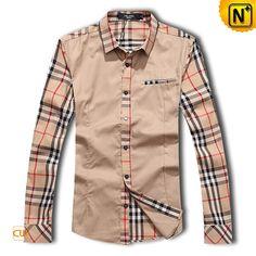Classic Plaid Shirts New Casual Shirts Slim Fit Stylish For Men CW1298 $108.79 - www.cwmalls.com