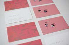 名刺のデザイン|井上サトコ. Business Card Japan, Business Card Design, Business Cards, Paper Design, Design Art, Graphic Design, Logos Cards, Printed Matter, Poster Layout