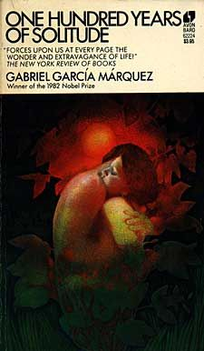 One Hundred Years of Solitude by Gabriel Garcia Marquez.  My first introduction to magic realism & I was hooked!