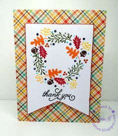 Craftcation: Card #1 Made From SSS October 2016 Card Kit