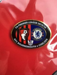 23/4/2016..afc bournemouth v #chelsea..official #matchday #badge..,  View more on the LINK: http://www.zeppy.io/product/gb/2/351715719399/