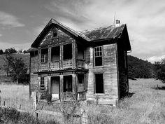 Abandoned house beside Rt 92 in Frost, West Virginia, by matt Stern, via Flickr