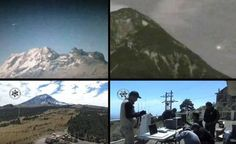 UFOs over Popocatepetl volcano captured by the new monitoring service volcanoes