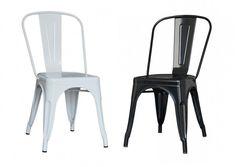 ¿Eres más de #blanco o de #negro?  En nuestra #colección de #sillas #Tólix podrás encontrar las dos opciones.  ¡La elección es tuya! 😎  #Bibeca #diseño #design #interior #interiorismo #color #mobiliario #mueble #decoración Chair, Furniture, Home Decor, White People, Black, Chairs, Interiors, Colors, Decoration Home