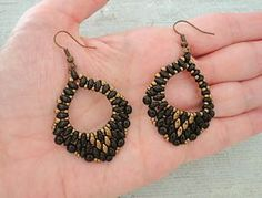 Linda's Crafty Inspirations: Mystery SuperDuo Bracelet & Mini Rondo Earrings