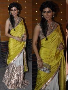 Bollywood actress Chitrangada Singh wearing Eina Ahluwalia haath phool