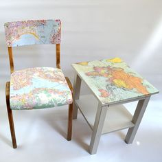 Map table & chair pi...