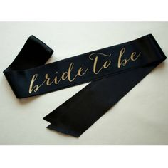 Classy Hen Party Sash | Black & Gold Bride To Be Hen Night Sash – HenBox