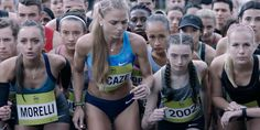 """Nice take on """"just do it"""". Athletes set absurd obstacles for themselves in latest from W+K."""