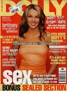 Britney Spears (date) [03/01/01 issue] #Dolly