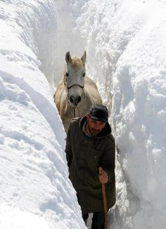 Wow, perhaps I shouldn't complain about winter in Ohio.  Winter in Kurdistan