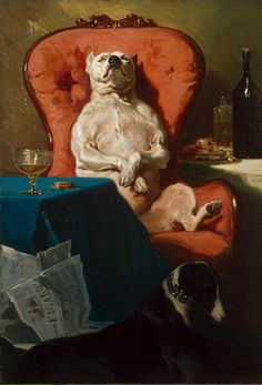 "<a href=""https://en.wikipedia.org/wiki/File:Alfred_Dedreux_-_Pug_Dog_in_an_Armchair.jpg"">Alfred de Dreux, ""Pug Dog in an Armchair,"" 1857</a>"