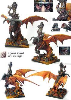 Lava Taurus - Chaos Dwarfs