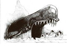 Monstro by Ralph Steadman Ralph Steadman, Frank Zappa, Kentucky Derby, Ink Illustrations, Illustration Art, Hunter S Thompson, Slash, Tinta China, Ink Master