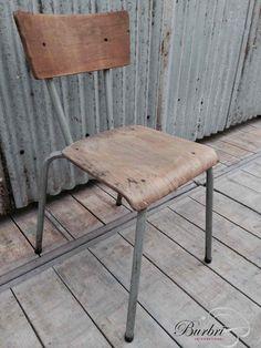 Vintage stoelen - Industrieel - Burbri