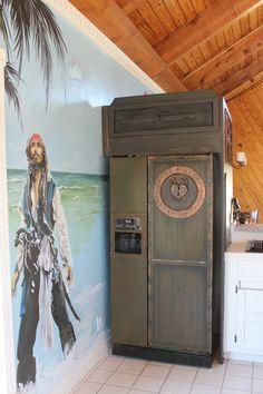 Pirates of the Caribbean fridge
