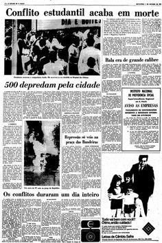 45 anos da batalha na rua Maria Antônia - noticias - O Estado de S. Paulo - Acervo Estadão