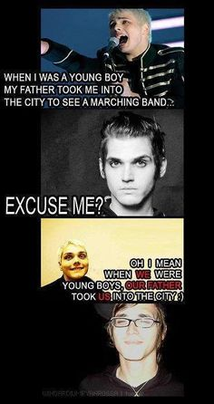 My Chemical Romance ~ Mikey and Gerard Way XD