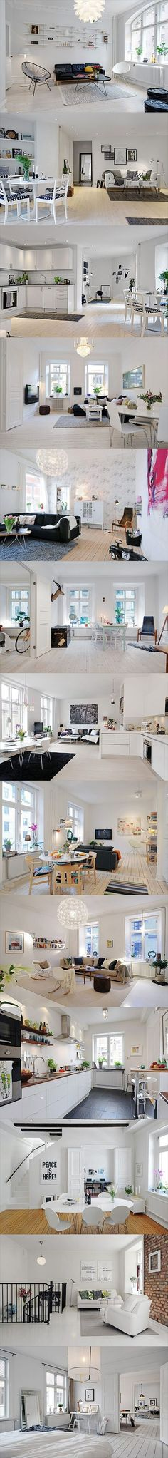 Beautiful & Stylish Scandinavian interior design inspiration | http://roomdesign14.blogspot.com