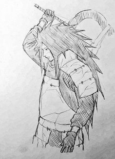 Încorporat Naruto Shippuden Sasuke, Anime Naruto, Naruto Madara, Naruto Art, Naruto Drawings, Naruto Sketch Drawing, Anime Drawings Sketches, Anime Sketch, Manga Art