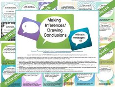 Make the skill of inferencing relevant AND fun! Your students will beg for this activity!