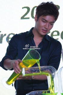 "Lee Min Ho - ""Innisfree Green Festa"" in Shanghai - Grand Ceremony - 25.07.2013"
