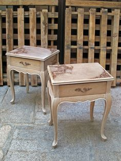 mesillas transferencia Muebles Shabby Chic, All Craft, Classic Furniture, Paint Furniture, Style Vintage, Vanity Bench, Chalk Paint, Wood Crafts, Woodworking