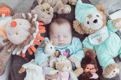 Avec les doudous #bébé #enfant #naissance