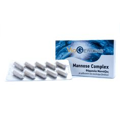Mannose Complex 555mg - 60 capsules Personal Care, Self Care, Personal Hygiene