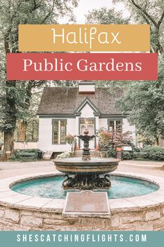 The Halifax Public Gardens is something to do when you're looking for things to do in Halifax Nova Scotia. Check it out in Downtown Halifax! Halifax Public Gardens, Timy Houses, Beautiful Flowers, Beautiful Places, Raised Patio, Building A Pool, Canada Travel, Nova Scotia, Sagrada Familia