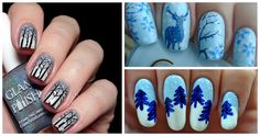 16 Winter Nails To Bundle Up With