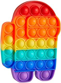 Amazon.com.br : pop it fidget toy bubble Figet Toys, Kids Toys, Muñeca Baby Alive, Pop It Toy, Ice Pop Maker, Disney Collage, Cool Fidget Toys, Pop Bubble, Stress Toys