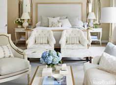 Neutral bedroom.