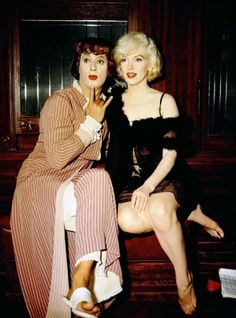 Marilyn Monroe & Tony Curtis