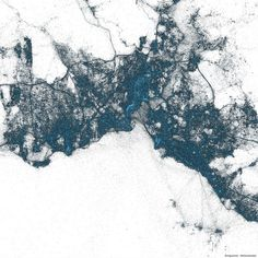 Stunning Images of NYC, Tokyo and Istanbul Using Geotagged Tweets